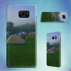 TENTS ON GRASS FIELD NEAR MOUNTAIN HARD CASE FOR SAMSUNG GALAXY S PHONES
