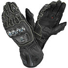 Dainese Full Metal Pro Motorcycle Leather Carbon Fiber Titanium Race Gloves