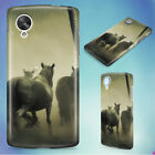 GROUP OF HORSE RUNNING HARD BACK CASE COVER FOR NEXUS PHONES