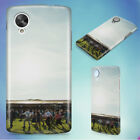 PEOPLE ON THE LAWN GRASS RUNNING HARD BACK CASE COVER FOR NEXUS PHONES