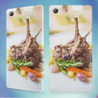 MEAL SERVED IN PLATE 1 HARD BACK CASE FOR SONY XPERIA PHONES