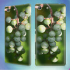 HEALTHY GRAPES WINE SNACK HARD BACK CASE FOR SONY XPERIA PHONES