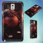 JACK O LANTERN BESIDE CANDLES HALLOWEEN HARD CASE FOR SAMSUNG GALAXY PHONES