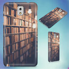 BLUR BOOK STACK BOOKS BOOKSHELVES HARD CASE FOR SAMSUNG GALAXY PHONES