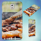FOOD CHICKEN MEAT OUTDOORS HARD CASE FOR SAMSUNG GALAXY PHONES