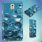 CLEAR WATER DROPS HARD CASE FOR SAMSUNG GALAXY PHONES