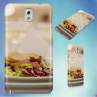 MEAL SERVED IN PLATE HARD CASE FOR SAMSUNG GALAXY PHONES