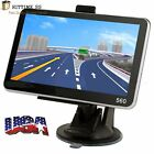 8GB Truck Car GPS Navigation Navigator Free US Map Wireless Rearview Camera