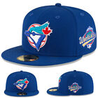 New Era Toronto Blue Jays 5950 Fitted Hat MLB 1993 World Series Side Patch Cap