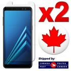 Premium Tempered Glass Screen Protector For Samsung Galaxy A8 2018 (2 PACK)