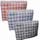 5 x Jumbo XXXL Strong Quality Storage Laundry Zipped Bag Recycled Reusable Bags