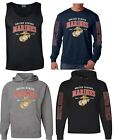 NEW! US MARINES Logo Military Forces T-shirts Sweatshirts Tank Tops S-3XL
