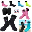 3mm Neoprene Boots Anti-slip Snorkeling Diving Wetsuit Socks Surfing Shoes XS-XL