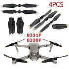 2Pair For DJI Mavic Pro Platinum Low Noise Propellers Quick Release Props Blades