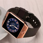 Bluetooth Smart Watch GSM SIM Phone Mate DZ09 Stainless Case For Android Samsung