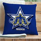 Seattle Mariners Custom Pillows Car Sofa Bed Home Decor Cushion Pillow Case on Ebay