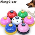 Pet Toy Training Called Dinner Small Bell Footprint Ring Dog Toys For Teddy Pupp