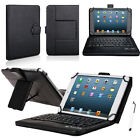 Wireless Bluetooth Keyboard with PU Leather Stand Cover Case