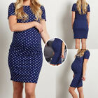 Pregnant Women O Neck Wrap Mini Maxi Dress Maternity Photography Prop Clothes