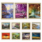 Внешний вид - Beauty DIY Paint By Number 16''*20'' Kit Forest Painting On Canvas Home Ornament