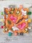 Ribbon Taggie Toy For Baby, With Optional Crinkle Added  Critters Menagerie