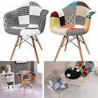 Mixture Armchair Chair Kitchen Dining Room Lounge Stool Cotton Foundation Vintage