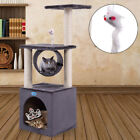 "Deluxe 36"" Cat Tree Condo Play Toy Furniture Kitten Pet House Scratching Post"
