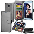 Luxury Leather Magnetic Wallet Case Flip Holder Card Protective Stand Hard Cover