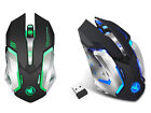 HXSJ M10 Wireless Gaming Mouse 2400dpi Rechargeable 7 color Backlight change