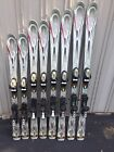 k2 comanche sport skis With Salomon 609 Used Binding