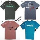 HURLEY T- SHIRT NEW MEN'S PREMIUM FIT CLASSIC FIT  NWT BLUE GRAY RED PINK .