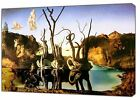 Mouse over image to zoom Swant-Reflecting-Elephant-Paint-By-Salvador-Dali-REPRIN