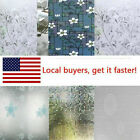 Waterproof Privacy Self Adhesive Bathroom Window Stickers Static Glass Film USA