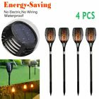 Solar Lights Dancing Flames LED Waterproof Wireless Flickering Torches Lantern V