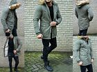 Luxury Men's Parka Winter Russia Young Mode UK Style Fashion fur Coat Jacket