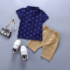 Toddler Kids Baby Boy Clothes Boys Outfits Sets Short T-Shirt + Pants Dot Tops