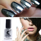 EP_ Metallic Chrome Mirror Effect Sexy Nail Art Polish Varnish Manicure Tool Lit