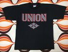 RARE 1998 UNION WORLD TOUR T SHIRT OLD MAN WISE RETRO 90S ROCK CONCERT METAL