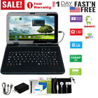 10.1  2-in-1 Laptop Tablet &Keyboard Headset Kit Etc Bundle Android Bluetooth US