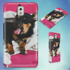 YAWNING DOG UNDER A BLANKET HARD CASE FOR SAMSUNG GALAXY PHONES