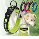 Nylon Dog Collar Personalized Safety Reflective Collars for Dogs Puppy XS-3XL US