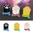 EP_ Cartoon Cat Claw Paw Dog Hard Enamel Pin  Animal Pet Brooch Pin Art Gift Uti
