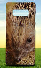 CLOSE UP PICTURE OF BROWN HEDGEHOG HARD CASE FOR SAMSUNG GALAXY PHONES