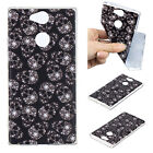 For Sony Xperia XA1 Plus / XA2 Ultra Slim Patterned Rubber Soft Phone Case Cover