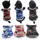 EP  Camouflage Large Size Mesh Pet Vest Dog Puppy Sleeveless Top Clothes T-Shirt