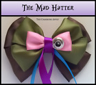 The Mad Hatter Hair Bow_Alice in Wonderland_Accessory_Handmade_Gift