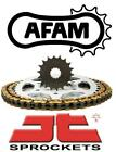 AFAM JT Chain And Sprocket Kit Honda CG125 98-01