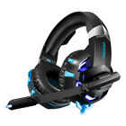 Soft Earcups Gaming Headset Wired Stereo Game Headphones + Crystal Clear Sound