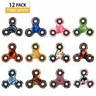 SCIONE Fidget Spinner 12 Pack ADHD Stress Relief Anxiety Toys Best Autism Fid...