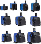 53-710 GPH Submersible Pump Aquarium Fish Tank Fountain Water Hydroponic